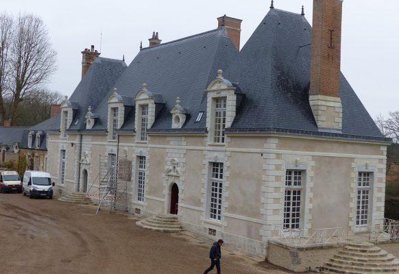 Restauration du château à Huisseau-sur-Cosson – Château des Grotteaux