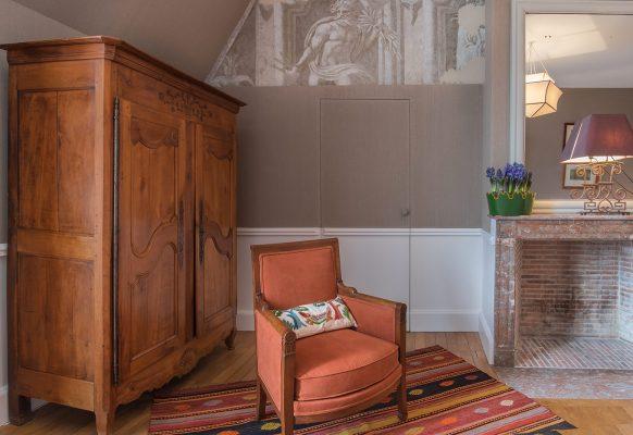 Rénovation d'un château en chambres d'hote – Château des Grotteaux
