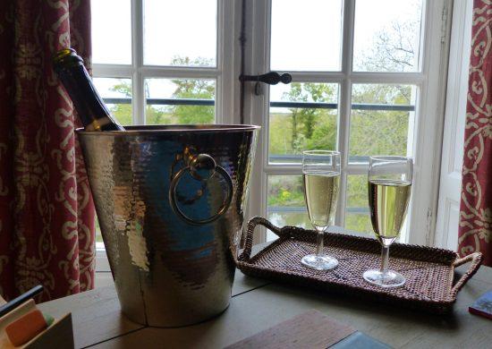 Champagne au Château